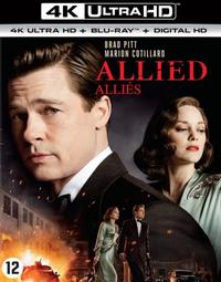 Allied (4K Ultra HD En Blu-Ray)-4K Blu-Ray