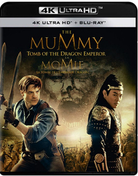 The Mummy 3: Tomb Of The Dragon Emperor-4K Blu-Ray