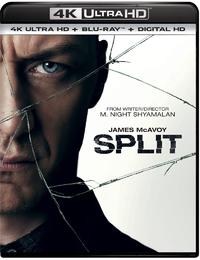 Split (4K Ultra HD En Blu-Ray)-4K Blu-Ray