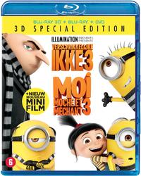 Verschrikkelijke Ikke 3 (3D En 2D Blu-Ray + DVD)-3D Blu-Ray
