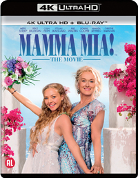 Mamma Mia! The Movie-4K Blu-Ray