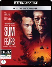 The Sum Of All Fears(4K Ultra HD En Blu-Ray)-4K Blu-Ray