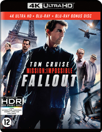 Mission Impossible 6 - Fallout-4K Blu-Ray