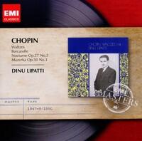Chopin: Waltzes-Dinu Lipatti-CD