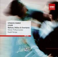 Strauss Family / Lehar: Waltze-Rudolf Kempe, Wiener Philharmon-CD