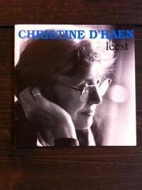 Christine D'Haen Leest-Christine d'Haen-CD
