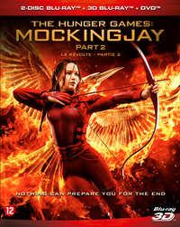 Hunger Games - Mockingjay Part 2 (2D En 3D Blu-Ray + DVD)-3D Blu-Ray