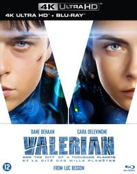Valerian And The City Of A Thousand Planets (4K Ultra HD En Blu-Ray)-4K Blu-Ray
