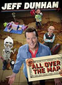 Jeff Dunham - All Over The Map-DVD