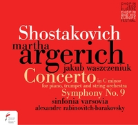 Concerto For Piano In C Minor Op. 35, Symphony No.-Martha Argerich-CD