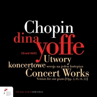 Concert Works, Version For One Piano-Dina Yoffe-CD