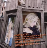 Portraits - Songs By Clara And Robert Schumann-Joseph Breinl, Miah Persson-CD
