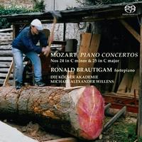 Piano Concertos Nos. 24 & 25-Ronald Brautigam-CD