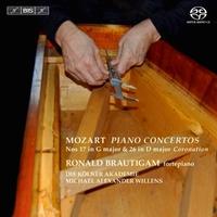 Piano Concertos Nos 17 & 26-Ronald Brautigam-CD