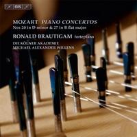 Piano Concerto Nos. 20 & 27-Die Kölner Akademie, Ronald Brautigam-CD