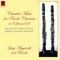 Chamber Music For Piccolo Clarinets-Luigi And Friends Magistrelli-CD