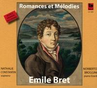 Emile Bret - Romances Et Melodies-Nathalie Constantin & Norberto Broggini-CD