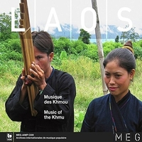 Laos - Music Of The Khmu--CD