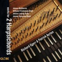Works For 2 Harpsichords-Patrick Ayrton, Richard Egarr-CD