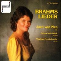Brahms Lieder-Jard van Nes-CD