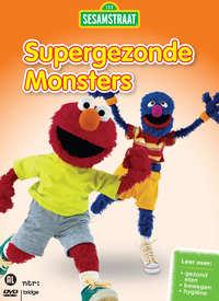 Sesamstraat - Supergezonde Monsters - Samen Bewegen-DVD