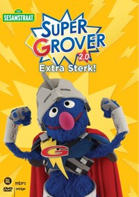Sesamstraat - Super Grover 2.0 - Extra Sterk-DVD