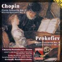 Piano Concerto No.1 In E-Chopin, Prokofiev-CD