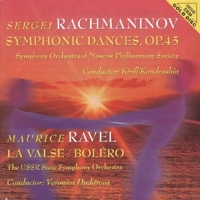 Symph.Dances Op.45/La Val-Rachmaninov, Ravel-CD