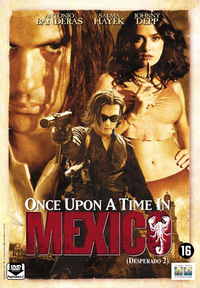 Once Upon A Time In Mexico-DVD