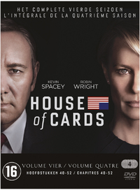 House Of Cards - Seizoen 4-DVD