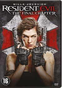 Resident Evil - The Final Chapter-DVD