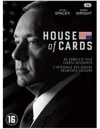 House Of Cards – Seizoen 1-4-DVD