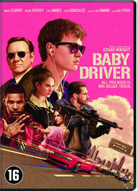 Baby Driver-DVD