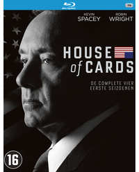 House Of Cards – Seizoen 1-4-Blu-Ray