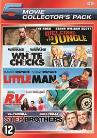 Welcome To The Jungle / White Chicks / Little Man / RV / Step Brothers-DVD