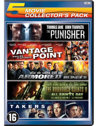 Punisher / Vantage Point / Armored / Boondock Saints II - All Saints Day / Takers-DVD