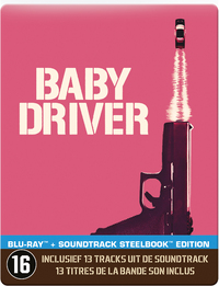 Baby Driver (Steelbook)-Blu-Ray