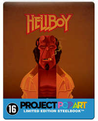 Hellboy (Steelbook Blu-Ray)-Blu-Ray