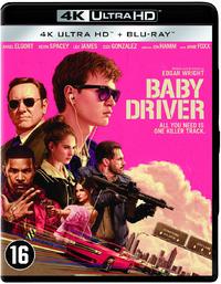 Baby Driver (4K Ultra HD En Blu-Ray)-4K Blu-Ray