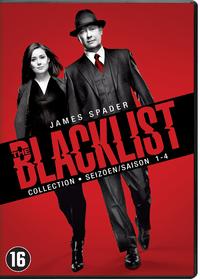 The Blacklist - Seizoen 1-4-DVD