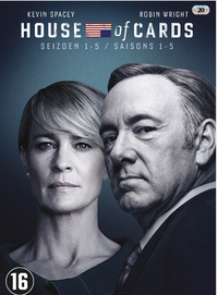 House Of Cards - Seizoen 1-5-DVD