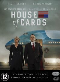 House Of Cards - Seizoen 3-DVD
