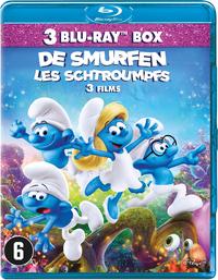 De Smurfen 1-3-Blu-Ray