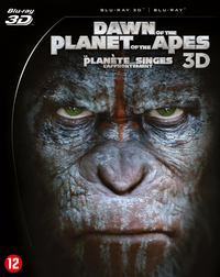 Dawn Of The Planet Of The Apes (3D En 2D Blu-Ray)-3D Blu-Ray