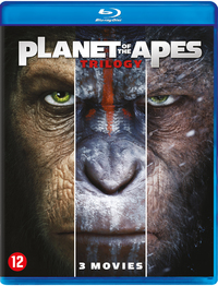 Planet Of The Apes - Trilogy-Blu-Ray