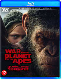 War For The Planet Of The Apes (3D En 2D Blu-Ray)-3D Blu-Ray