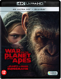 War For The Planet Of The Apes (4K Ultra HD En Blu-Ray)-4K Blu-Ray