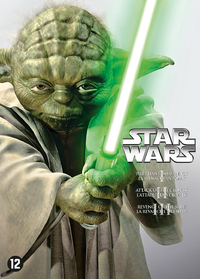 Star Wars Prequel Trilogy-DVD