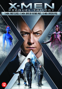 X-Men Prequel Trilogy (4-6)-DVD