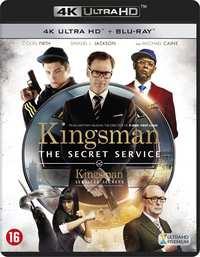 Kingsman: The Secret Service (4K Ultra HD En Blu-Ray)-4K Blu-Ray